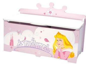 DISNEY - coffre jouets princesse - Coffre À Jouets