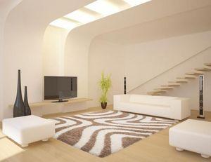 NAZAR - tapis chillout 120x170 beige - Tapis Contemporain