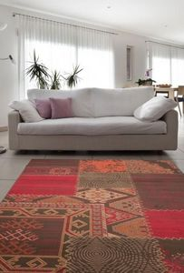 NAZAR - tapis contempo 60x110 red - Tapis Contemporain