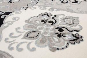 NAZAR - tapis empera 160x230 silver - Tapis Contemporain