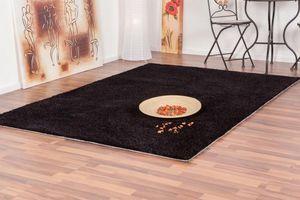 NAZAR - tapis focus 80x150 black - Tapis Contemporain