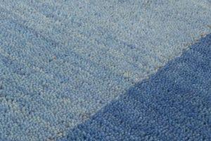 NAZAR - tapis gabbeh 70x230 blue - Tapis Contemporain