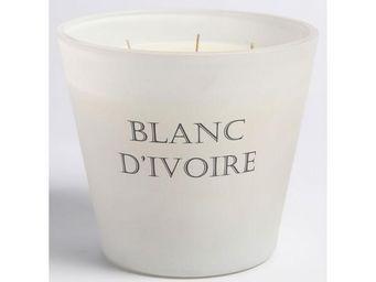BLANC D'IVOIRE - fleur d'eau - Bougie Parfumée