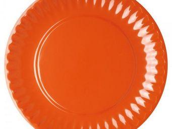 La Chaise Longue - set de 4 assiettes malibu assorties - Assiette Plate