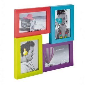 Delta - cadre multicolore 4 photos - Cadre Photo