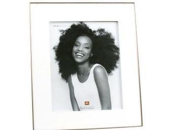 Present Time - cadre photo bianco blanc - Cadre Photo