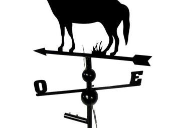 BARCLER - girouette cheval en fer forgé 104x47x47cm - Girouette