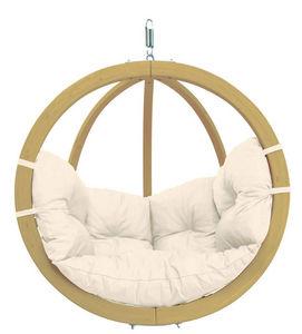 Amazonas - chaise globo à suspendre avec coussin - Balancelle