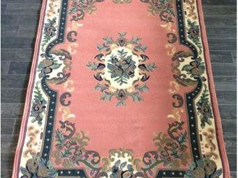 ILIAS - tapis de sol beijing rose 115x165 cm - Tapis Traditionnel