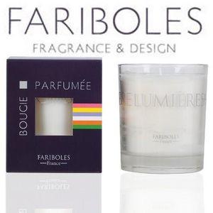 Fariboles - bougie parfumée 185 gr - cachemire - tonka - farib - Bougie Parfumée