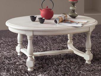 CDL Chambre-dressing-literie.com - meubles tv, tables et petits mobiliers - Table Basse Ronde