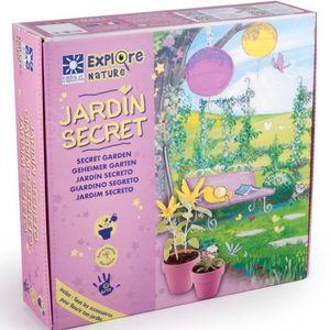 Radis Et Capucine - le coffret mon jardin secret pour les filles - Kit De Jardinage