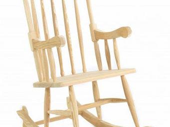 Couleurs Des Alpes - rocking-chair en pin massif - Rocking Chair