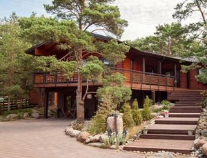 PALMATIN -  - Maison En Bois