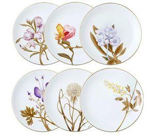 Royal Copenhagen - flora - Assiette Plate