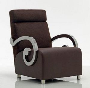 AMBIENTI GLAMOUR -  - Fauteuil Bas