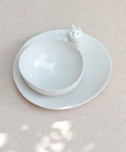 CHARLOTTE HEURTIER -  - Assiette Plate