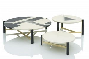 EMANUEL UNGARO -  - Table Basse Ronde