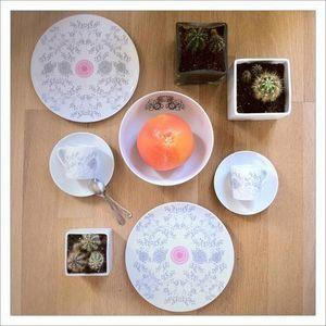EMILIEBOK' -  - Assiette Plate