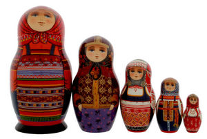 PETERHOF -  - Poupées Russes
