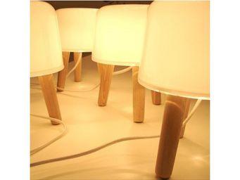 &Tradition - lampe de table milk - Lampe À Poser