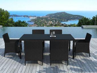 Delorm design - table de jardin en résine - Table De Jardin