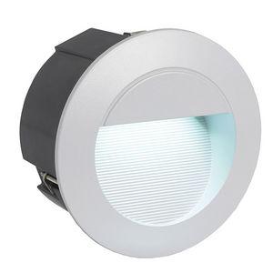 Eglo - zimba - applique d'extérieur led ronde ø12,5cm | - Applique D'extérieur