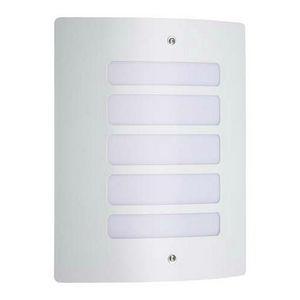 Brilliant - todd - applique extérieur blanc h29cm | luminaire  - Applique