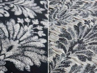 CREATIONS METAPHORES - fusain - Tissu D'ameublement Pour Siège