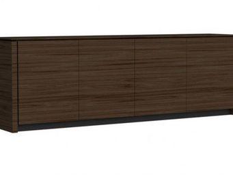 Calligaris - buffet bas mag wood de calligaris weng� 4 portes - Buffet Bas