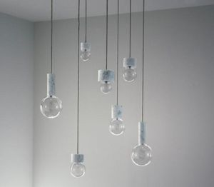 &Tradition - marble - Suspension