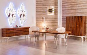 GREENAPPLE - pure glam - Table De Repas Ovale