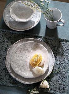 BLANC MARICLO -  - Assiette Plate