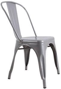 COMFORIUM - chaise design « toxi» coloris gris - Chaise