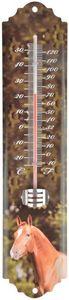 Esschert Design - thermomètre mural cheval cheval - Thermomètre