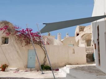Ideanature - voile d'ombrage carrée 2,90 mètres gris foncé - Voile D'ombrage