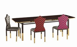 ROCHE BOBOIS -  - Table De Repas Rectangulaire