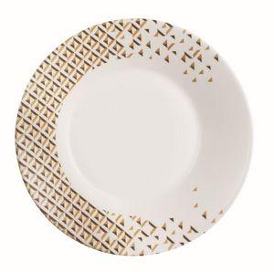 Luminarc - loft abacco- - Assiette Plate