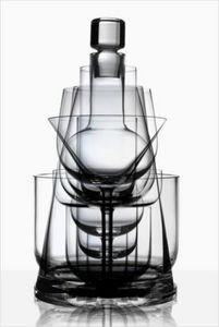 GUILLAUME DELVIGNE - horizon / cristal de sèvres - Service De Verres
