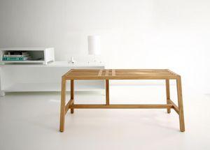 BRANCA - tween - Table De Repas Rectangulaire