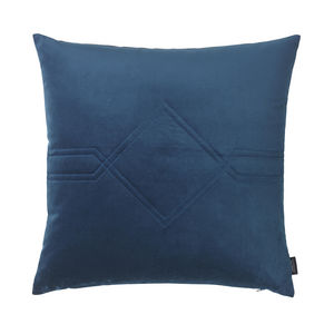 LOUISE ROE COPENHAGEN - diamond cushion royal blue - Coussin Carré