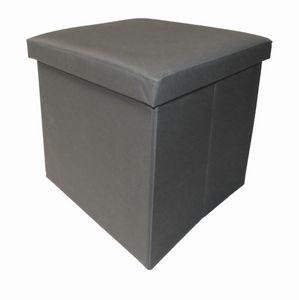 Cotton Wood - pouf pliable oxford - Pouf