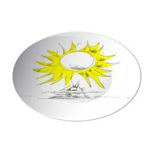 la Magie dans l'Image - assiette soleil - Assiette De Présentation
