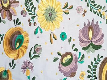 KARIN SAJO - flower power - Tissu D'ameublement