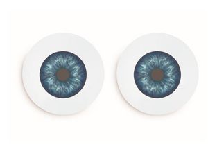 PIED DE POULE - iris - Assiette Plate