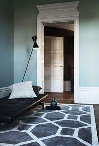 LAYERED - elephant gray rug - Tapis Contemporain