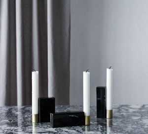 KRISTINA DAM STUDIO - candlesticks square  - Bougeoir