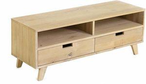 ZAGO - meuble tv chêne huilé upp - Meuble Tv Hi Fi