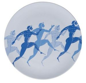 SOPHIA - olympic runners - Assiette Plate