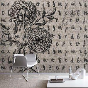 SKINWALL - dahlia's memories - Papier Peint Panoramique
